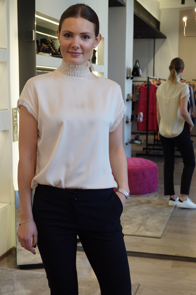 New collection! By Malene Birger silkkipaita 245eur