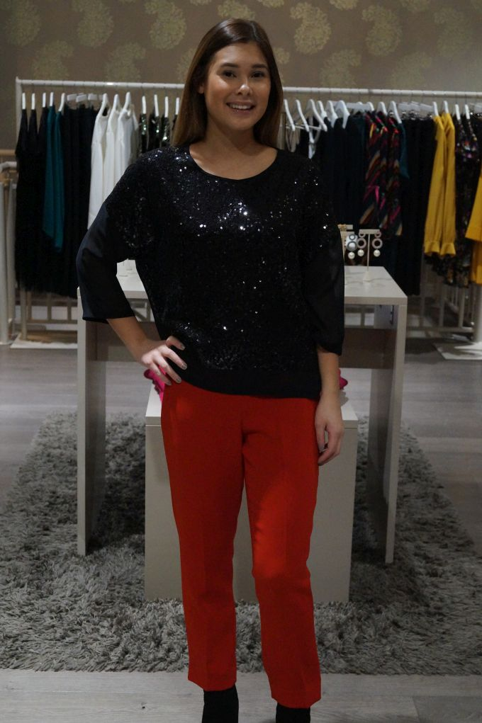 New Collection! By Malene Birger paljettipaita 310eur ja Theory housut 325eur